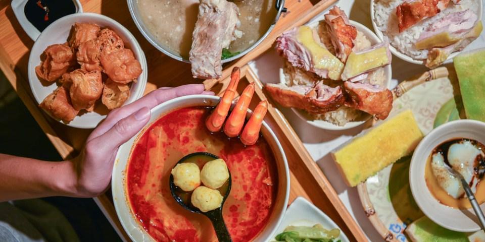 潮星州新馬料理:台中西區美食-寵物友善的粉色系熱帶雨林異國料理餐廳(已歇業)