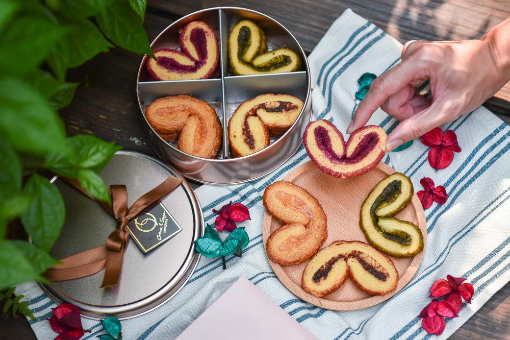 甜忌廉甜點店Cream&Sugar:台中西區美食-香港人氣點心鐵盒蝴蝶酥,不用飛香港在台灣就吃的到的宅配伴手禮!