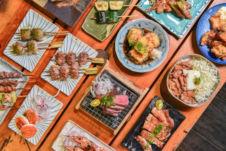 鳥忠とりちゅう:台中西區美食-鄰近草悟道的深夜食堂日式居酒屋,必點尚青的海鮮料理!