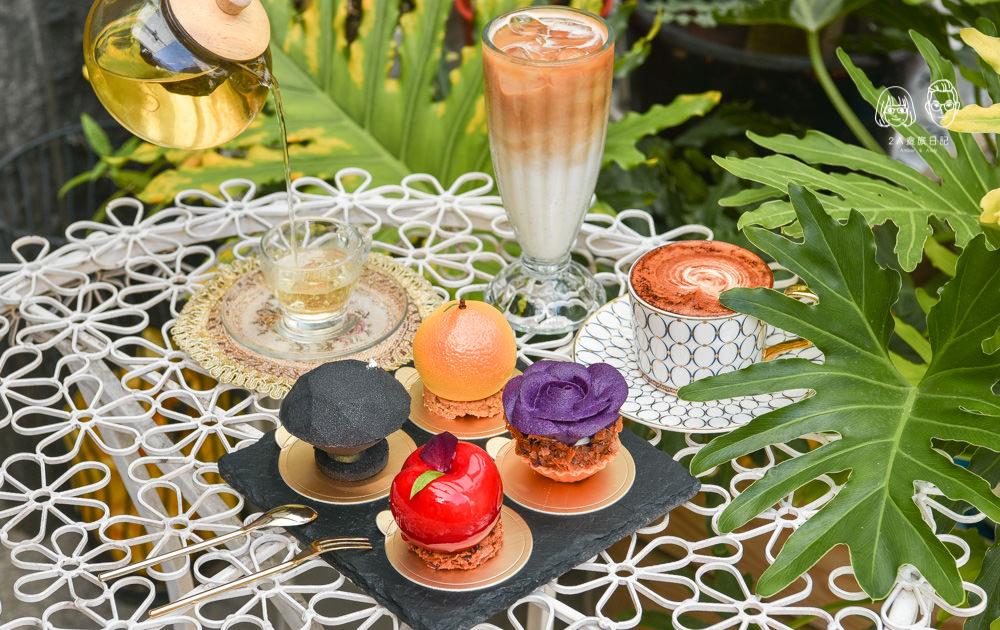 甜忌廉甜點店 Cream&Sugar:台中西區美食-鄰近綠園道的精緻法式手工甜點,甜而不膩男生也很適合。