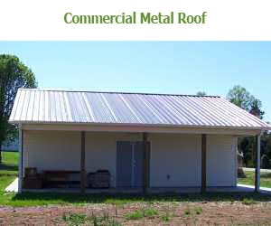 Commercial Metal Roofing Bunce Buildings