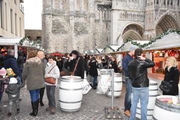 Marché de Noël de Rouen Le vin chaud très courtisé