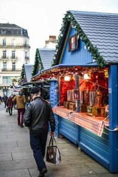 Chalet à vin chaud au Marché de Noël d'Angers