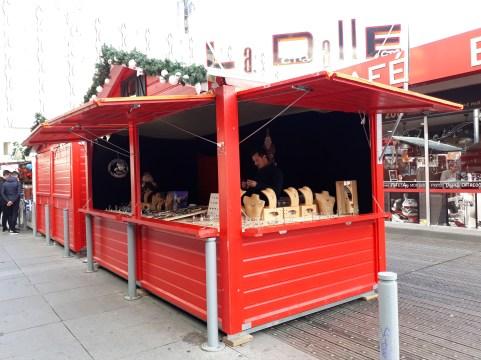 Bijoux vendus sur le marché de Noël de Rennes