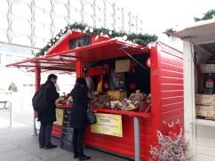 Chalet à charcuterie sur le Marché de Noël de Rennes