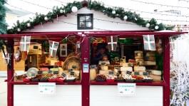 Spécialités basques sur le marché de Noël du Mans