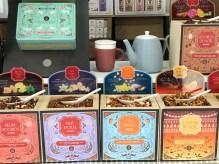 Thé vendu sur le marché de Noël de Rennes