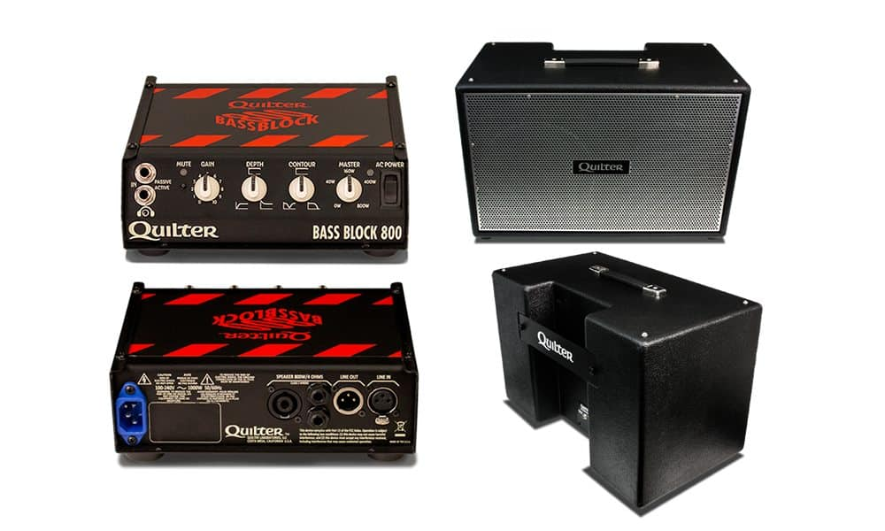 Quilter Bass Block 800 And Quilter Bassliner