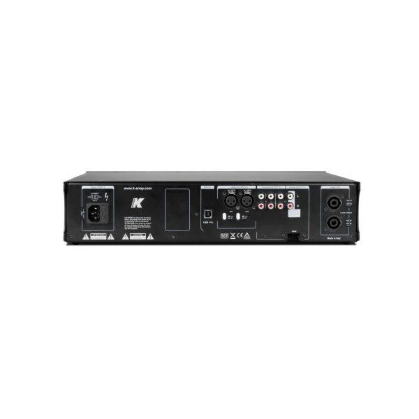 K-ARRAY Kommander KA14 Amplifier Rear View