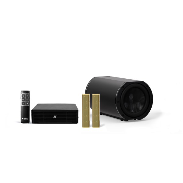 K-ARRAY AZIMUT KAMUT2L14 Discreet audio solution Gold