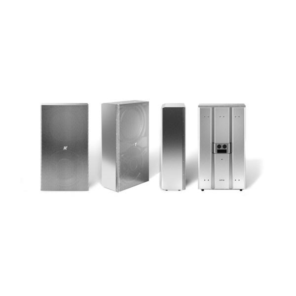 K-array Domino KF210 full-range speaker stainless steel compact speaker steel