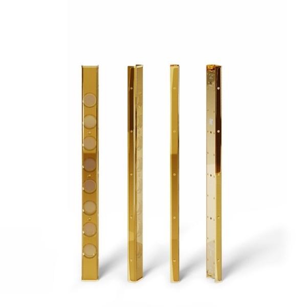 K-ARRAY Vyper KV52 Ultra-flat Passive Speaker Antique Gold