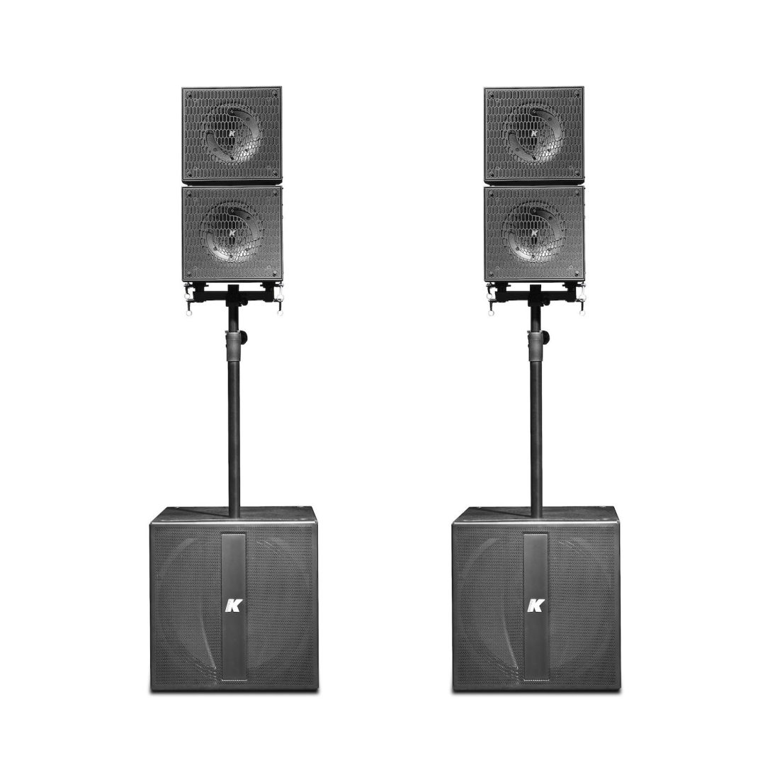 K-ARRAY Axle KRX402 medium portable audio system front view