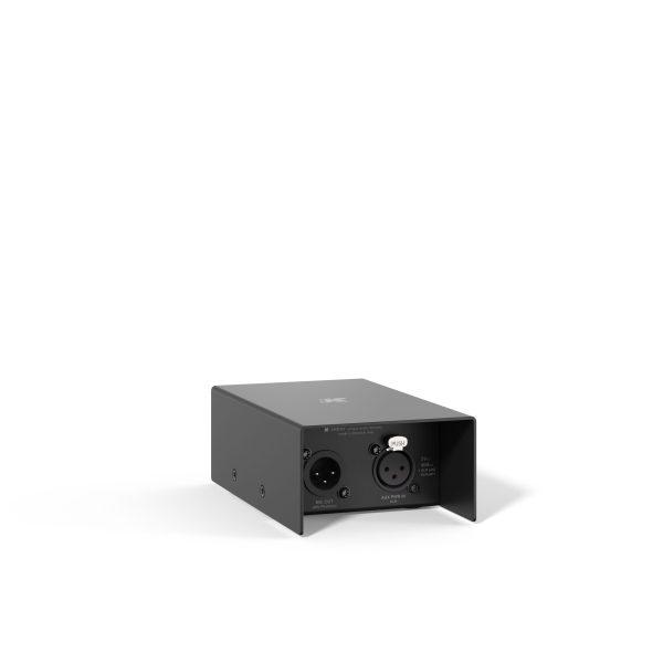 K-Array KMC50 microphone amp mains plug view