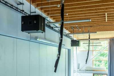 Audio system installation City of London Academy