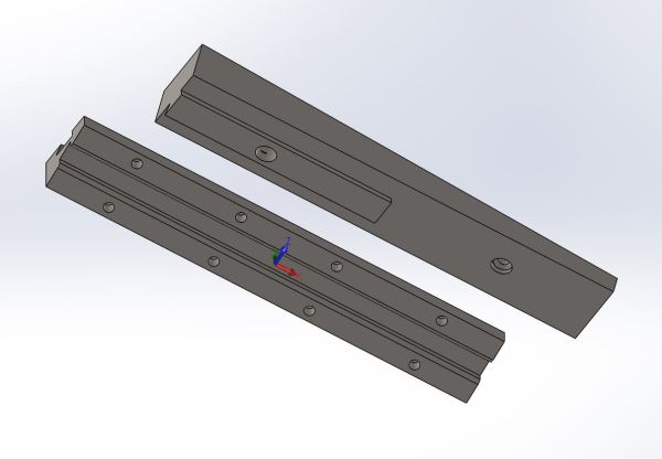 KP52 2 Angle 2 Part Wedge Mount