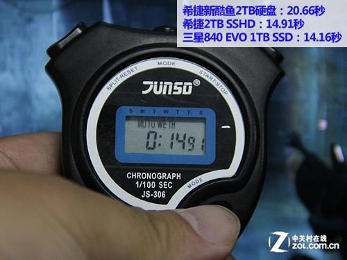 3.5英寸固态混合硬盘 希捷2TB SSHD首测