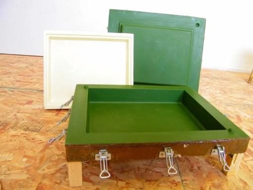 Форма для улья, пресс-формы для ульев, пресс-форма для литья крыши улья, формы для 10-рамочных ульев.
