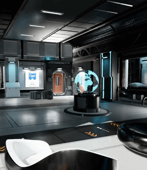 VR Homroom, Showcase, and Vault