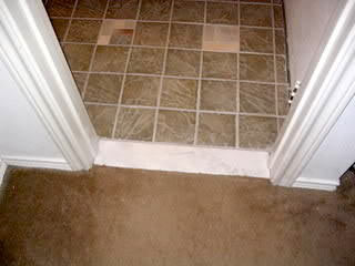 smooth tile floor transitions timber