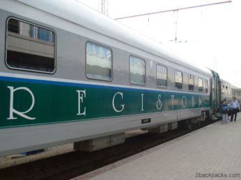 Registan, the train from Tashkent to Samarkand