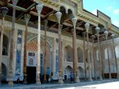 The mosque were the khan used to pray