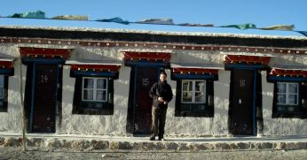 Guesthouse at Old Tingri, Tibet