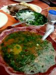 Pozole and Barbacoa for breakfast - Queretaro, Mexico
