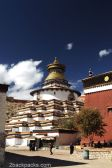 The Kumbum - stupa of a thousand images -, Gyantse Monastery