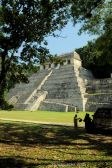 Maya Temples in Palenque, Mexico