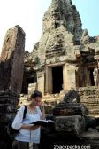 Angkor region: temples, reliefs, statues and scenes of life