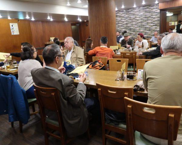 Inside Kamiya Pub Tokyo
