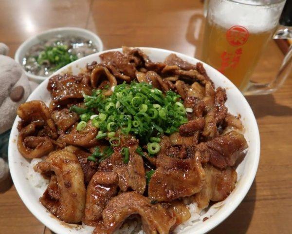 Giga Shibire Butadon - 1.5kg of Grilled Pork Rice at Ameyoko Street Ueno Tokyo!