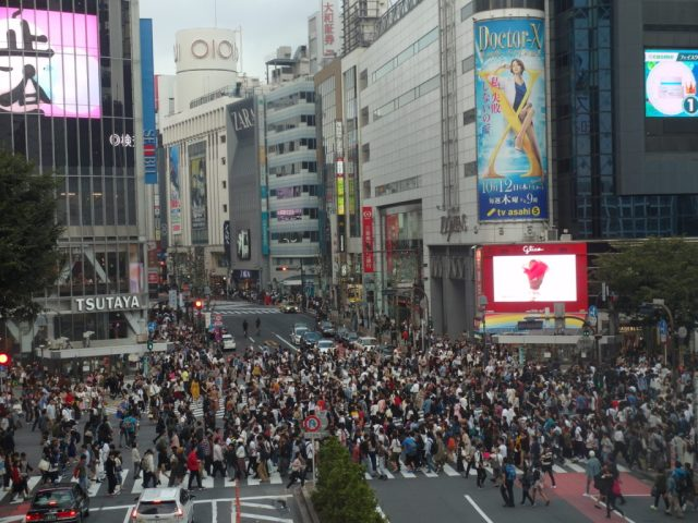Shibuya Crossing (After)