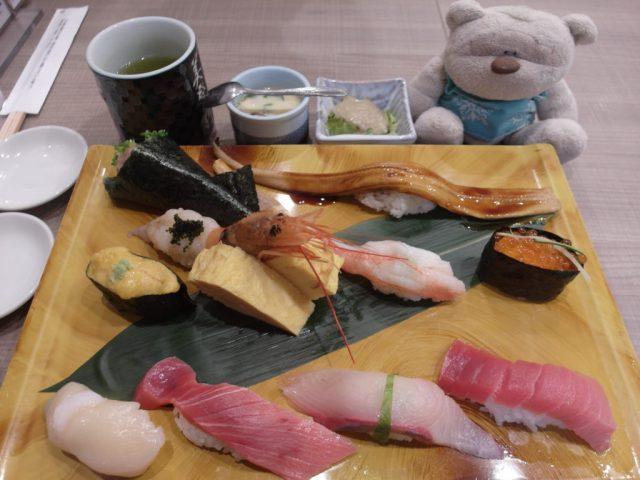 Ultimate Sushi Assortment Midori Sushi Shibuya (2000 yen)