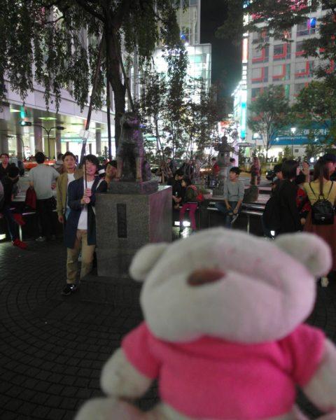 Hachiko Memorial Statue Shibuya Train Station