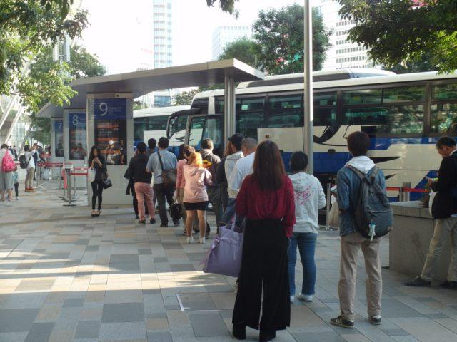 JR Express Bus from Tokyo to Mount Fuji