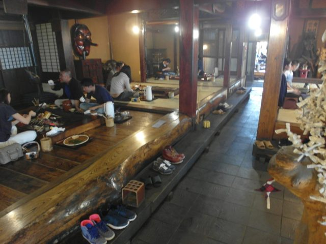 Inside Sanrokuen BBQ Restaurant Mount Fuji