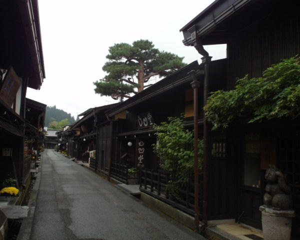 Well-preserved Edo-period streets of Takayama