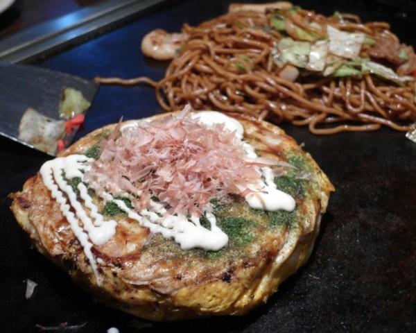 Nagoya Okonomiyaki and Yakisoba