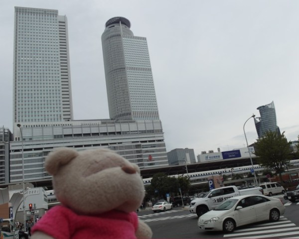 Taken from Entrance of Bic Camera towards Nagoya Station