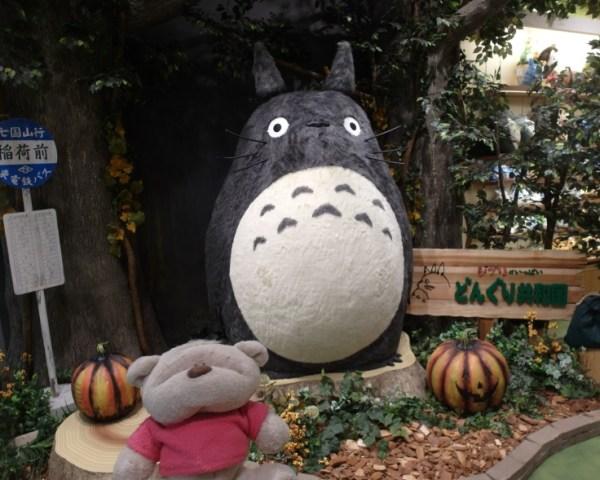 Totoro Takashimaya Nagoya