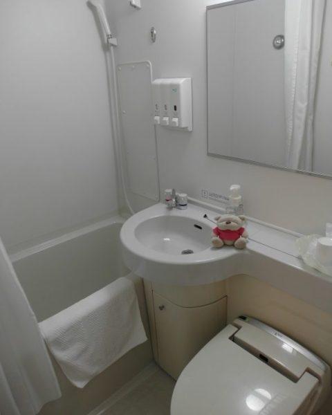Nagoya Ekimae Montblanc Hotel Bathroom