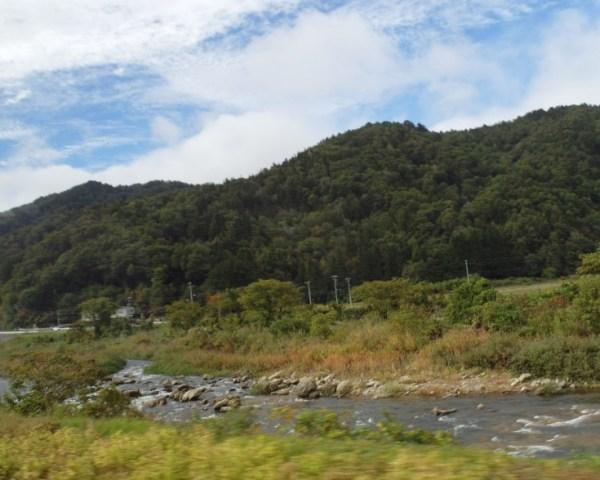 River views from Takayama to Nagoya