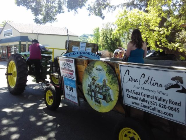 Tractor Carmel Valley Wine Tasting