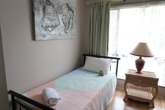 2nd bed for more guests at Noosa Heads Home