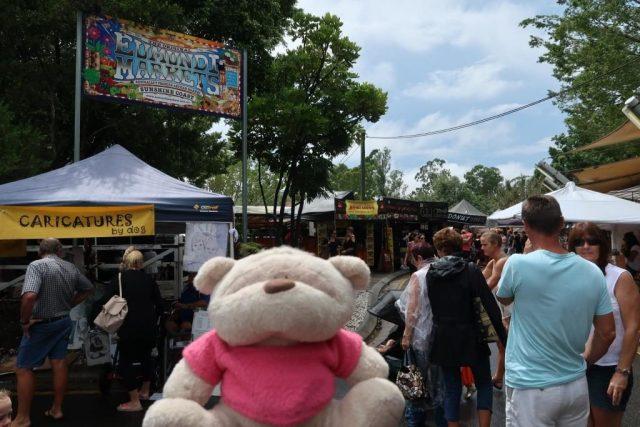 2bearbear @ Eumundi Markets Australia