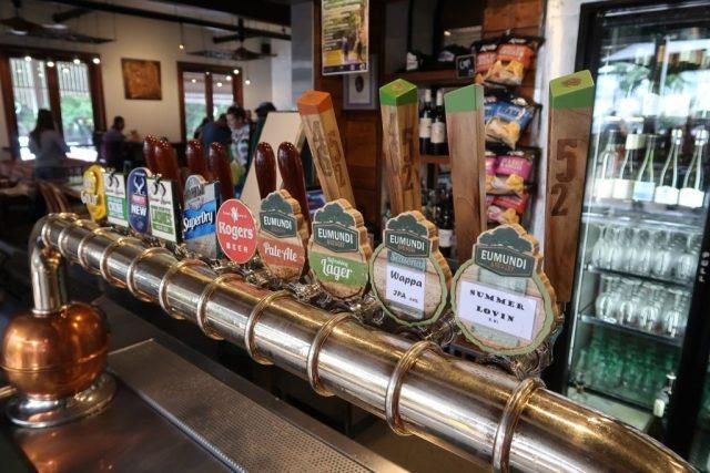 Beers on Tap at Eumundi Brewery
