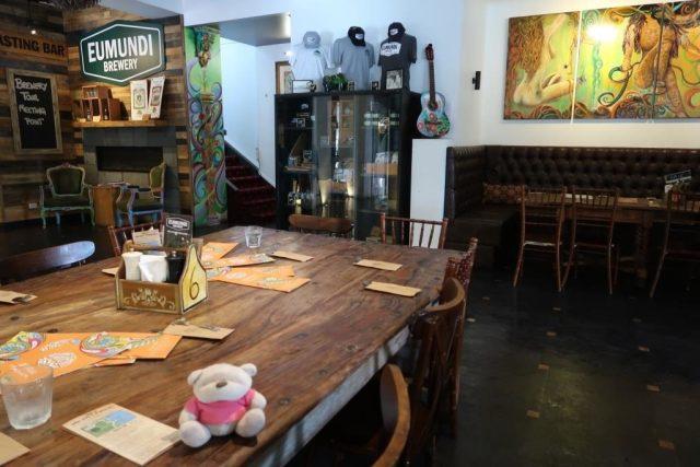 Inside Eumundi Brewery