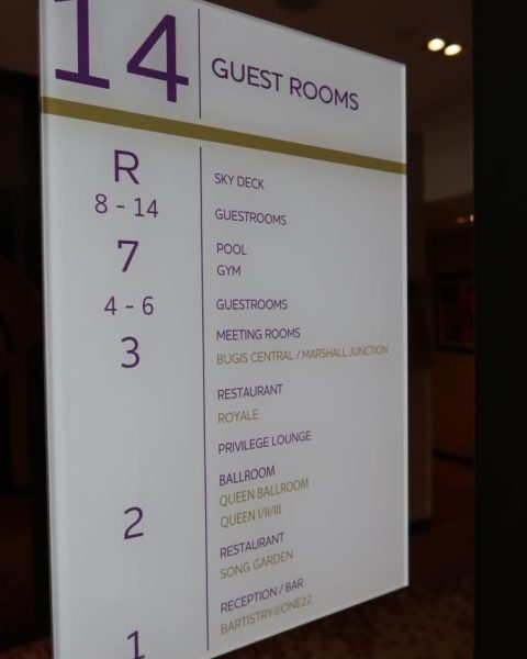 Facilities of Mercure Singapore Bugis and their location